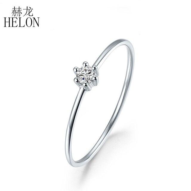Sterling Silver 925 VVS/HG Moissanite Rings For Women Solitaire Engagement Wedding Trendy Fine Jewelry Elegant unique Gift Ring