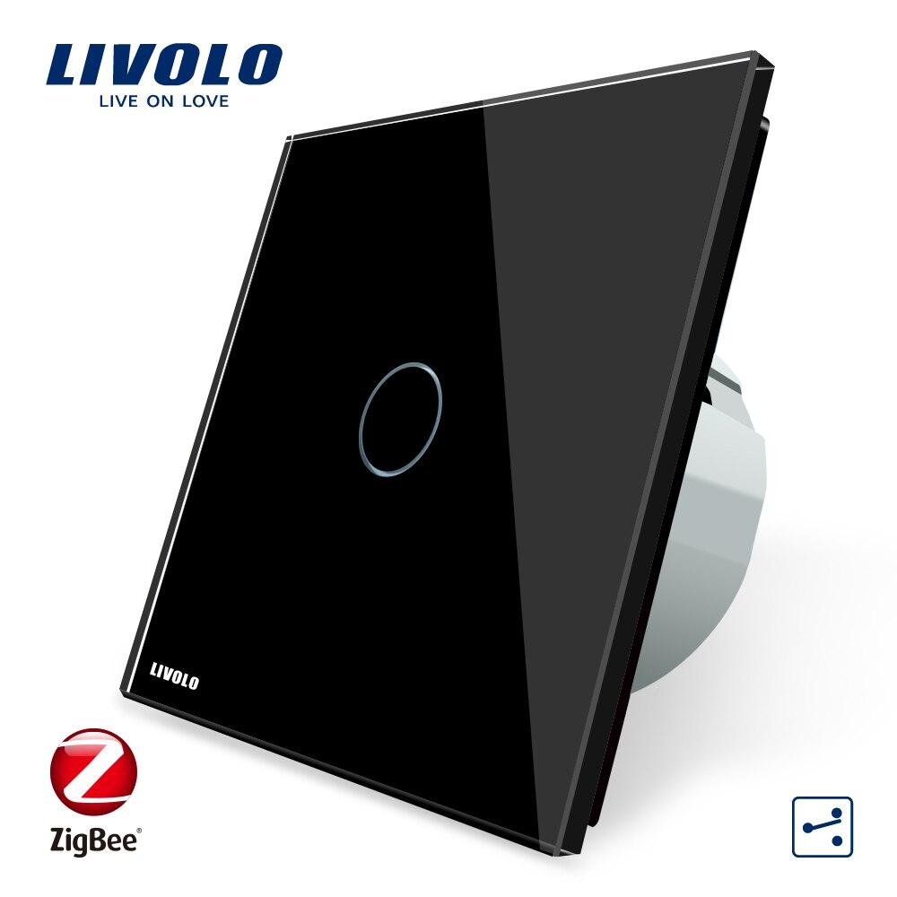 Livolo ZigBee SwitchAPP Sans Fil Automatisation Intelligente 2 Façon Contrôle Écran Tactile Interrupteur, Seulement travail avec Livolo passerelle - 2