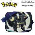 2017 Japanese Anime Pokemon Umbreon Espeon Messenger Shoulder School Bag For Students Kids Children Boys Girls Canvas Bags