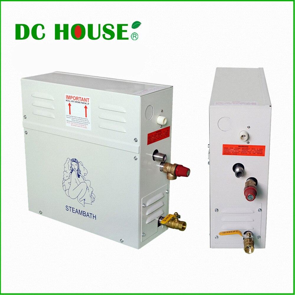 DC HOUSE New 9KW Steam Generator/Sauna Bath Home Spa Shower & Controller dc house new 9kw steam generator sauna bath home spa shower