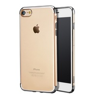 For IPhone 7 4 7 Inch Phone Cases BASEUS Electroplated Soft TPU Back Phone Cover Case