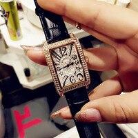 2019 Women Watches Luxury Brand Gold Crystal Ladies Wrist Watches Woman Fashion Clock Quartz Watches For Women Relogio Feminino
