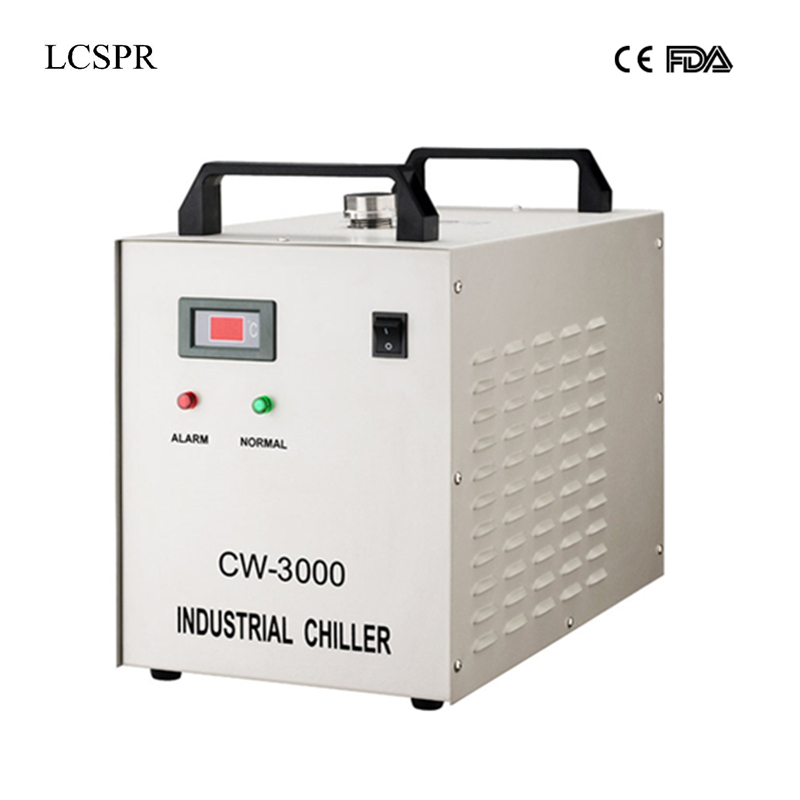 220V or 110V CW3000 water chiller cooling for 4040 or 4060 or 6090 laser engraving and cutting machine -in Woodworking Machinery Parts from Tools