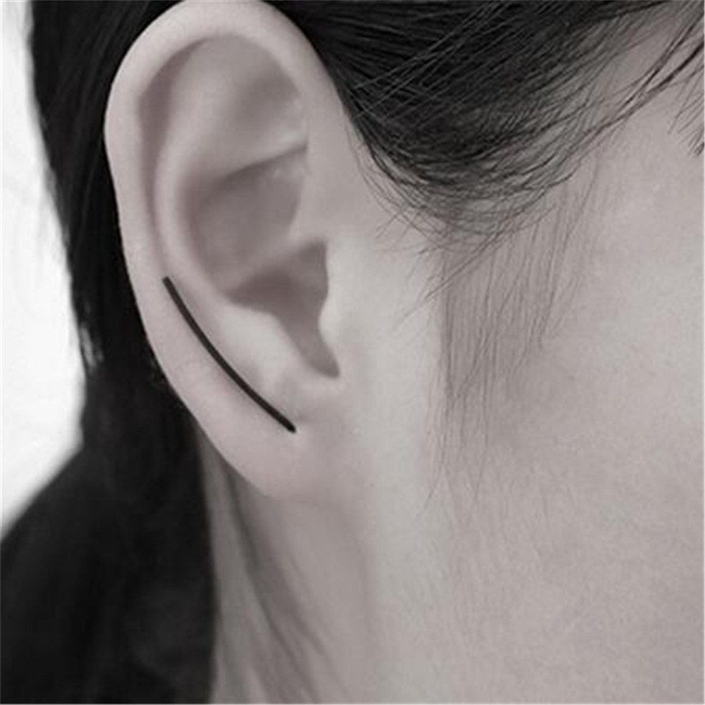 Lusion Jewelry Wholesale 2016 New Design Fashion Vintage U-shaped Alloy Stud Earrings Best Gift For Woman Hot Sale SJ-ED37