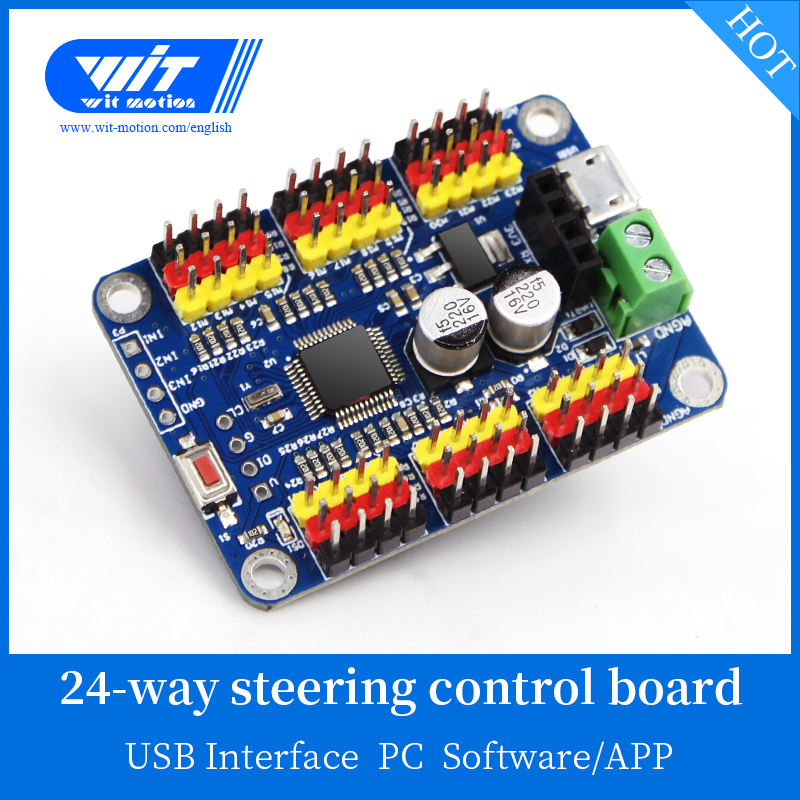 Educational Toys WitMotion 16 Channel PWM Servo Motor Driver