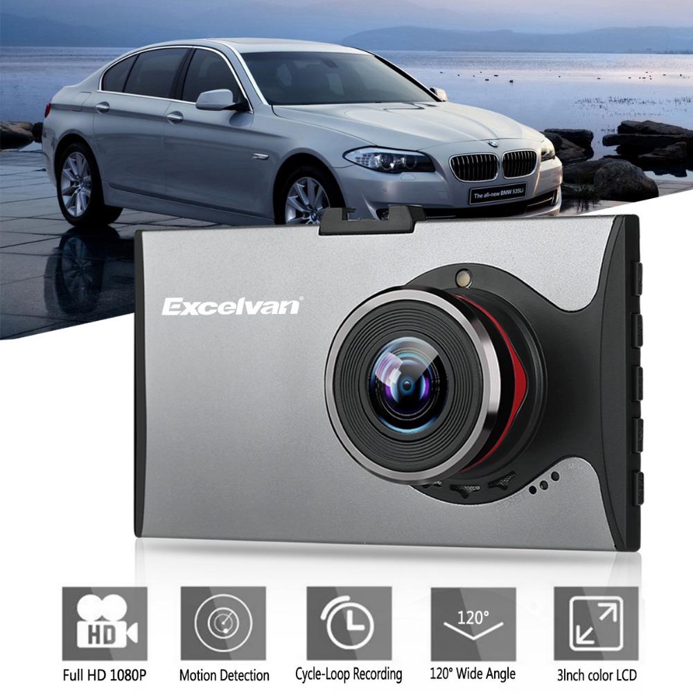 """Prix pour A9 3 """"LCD FHD 1080 P Voiture DVR Ultra-mince Véhicule Caméscope de Vision Nocturne Dash Cam Caméra Enregistreur Vidéo Numérique D'or et gris"""