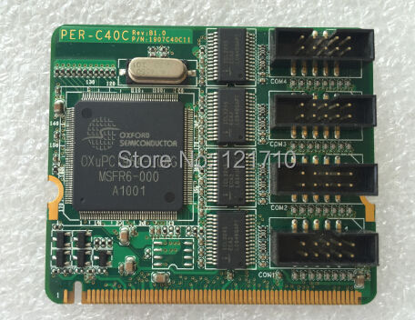 где купить Industrial equipment board AAEON Mini PCI 4-port RS-232 Module PER-C40C REV B1.0 1907C40C11 дешево