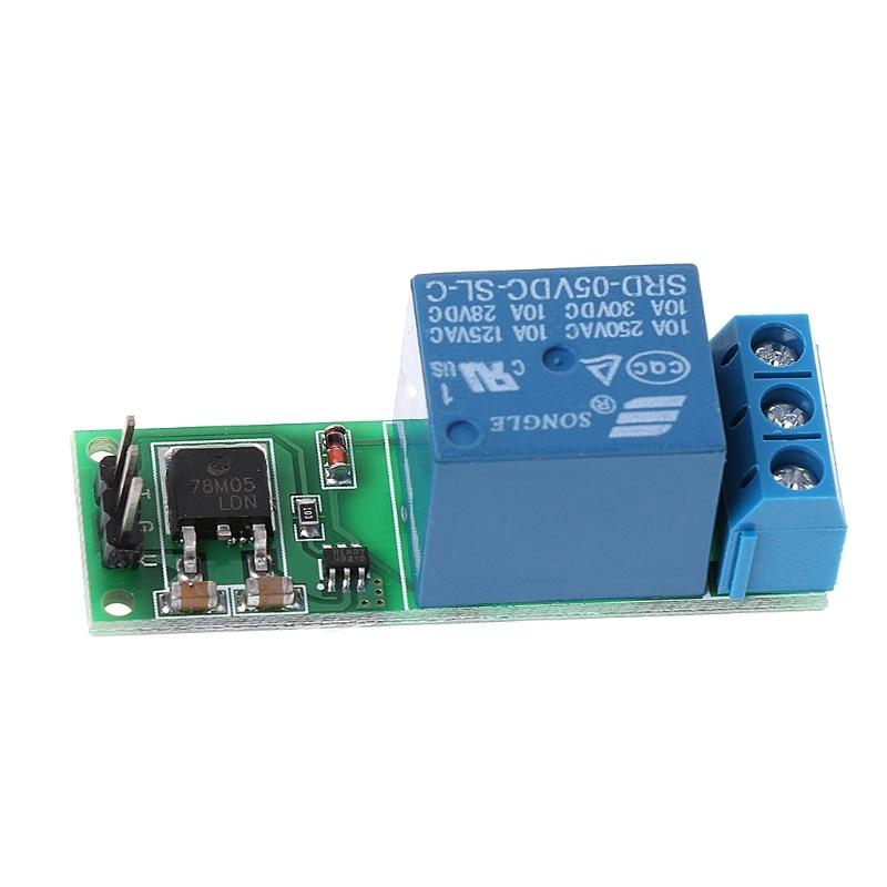 6-24V Flip-Flop Latch Relay Bistable Self-locking Low Pulse Trigger Module