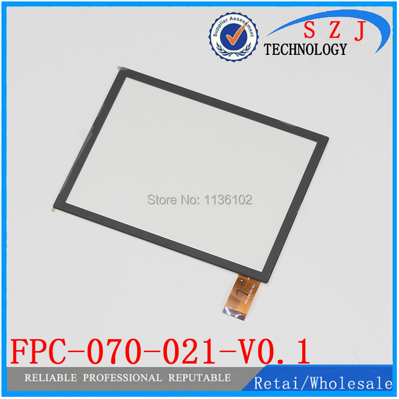 (Ref: FPC-070-021-V0.1 ) New 7 inch LCD touch panel LCD touch screen digitizer glass for tablet PC Free shipping