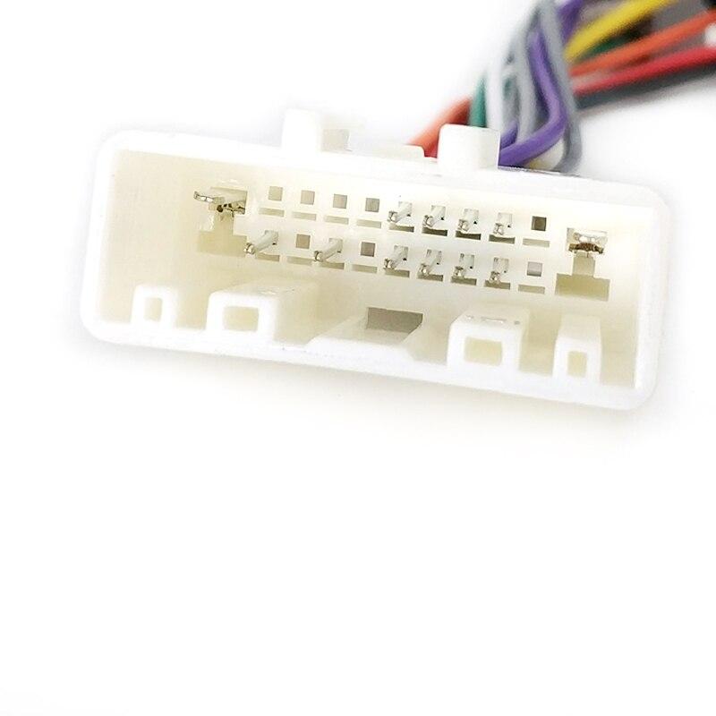 Biurlink автомобильный Радио CD Changer женский ISO Разъем Жгут Проводов адаптер кабель для Nissan 20Pin жгут проводов