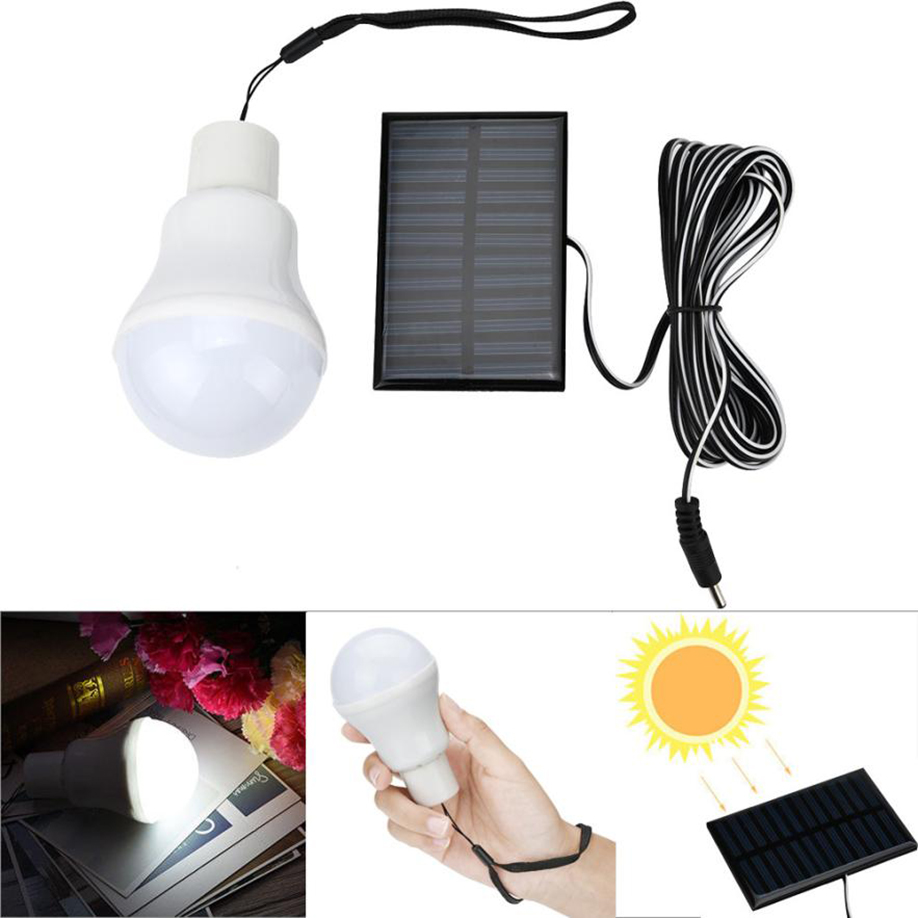 Smart New Hot Sale 110lm S-1200 High Light Portable Led Bulb Light Charged Solar Energy Lamp For Outdoor Home Emergency Lights & Lighting