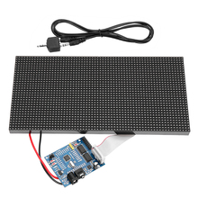 32X64 Assembled Colorful Multifunctional Music Spectrum LED Light Display Dot Rectangle Board Analyzer Sound Waves Display