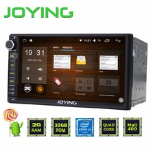 New 2G+32G Android 5.1 Quad Core Universal Car Audio Stereo GPS Navigation Double 2 Din 1024*600 HD Car Radio Multimedia Player