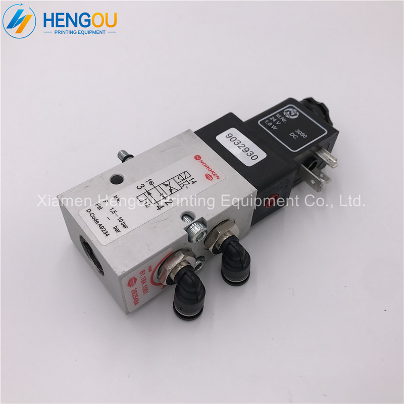 цена на 2 Pieces China post free shipping Heidelberg Valve 4/2-way valve for SM102 CD102 SM74 SM52 printing machine 61.184.1051 2625484