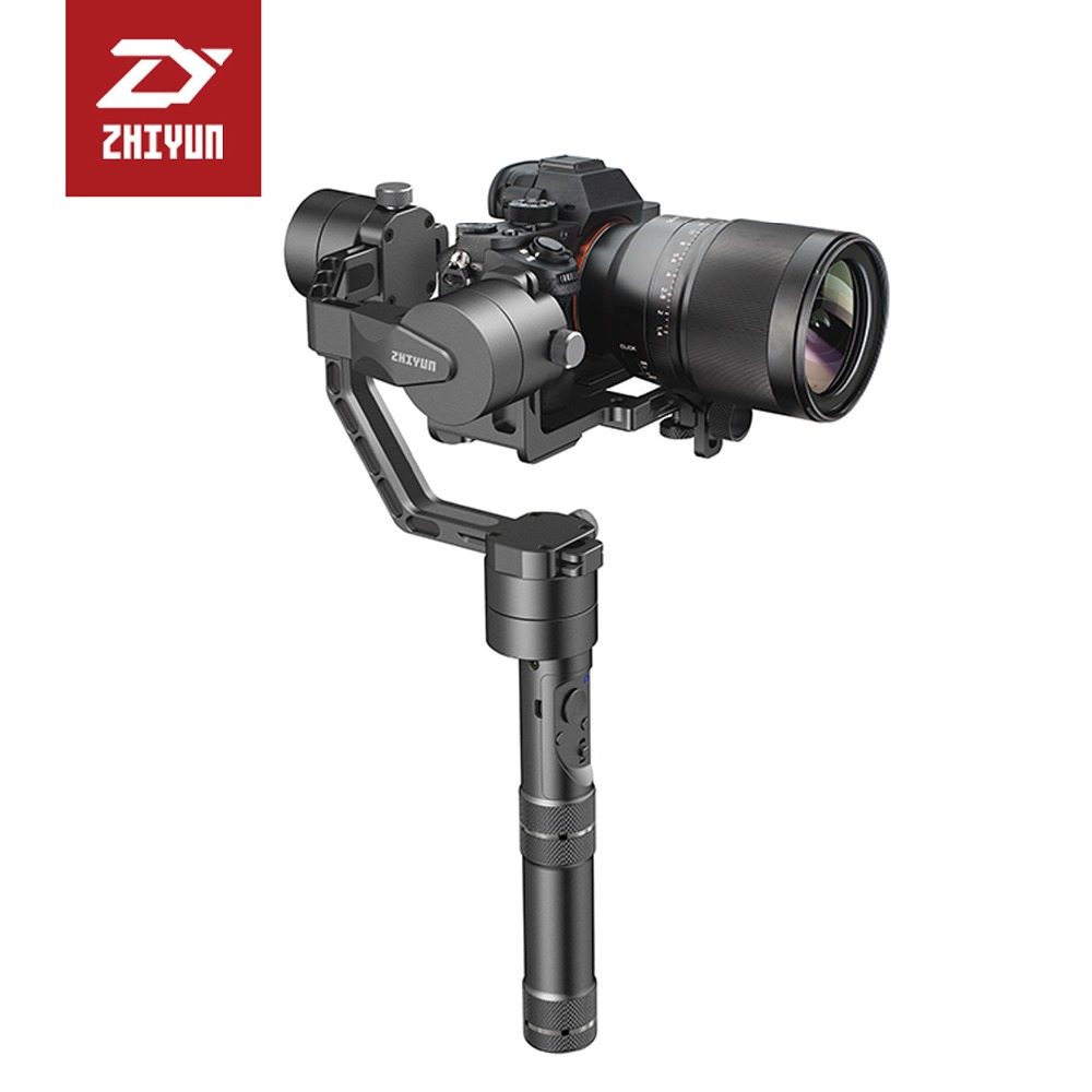 Zhiyun Official [Crane] 3-axis Handheld Camera Gimbal for Mirrorless DSLR Camera payload 350g to 1.8kg yuneec q500 typhoon quadcopter handheld cgo steadygrip gimbal black