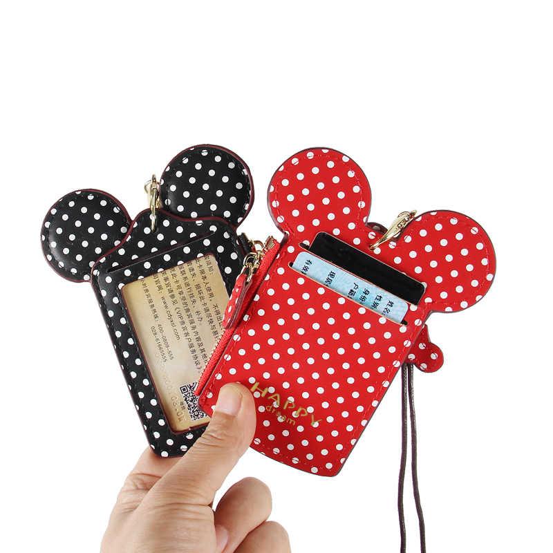 Женские кошельки футляры для идентификационных карт мульти-карты ПУ кожа Висячие кошельки с ремешком модные беджи чехол банк кредитные карты держатели подарок для женщин