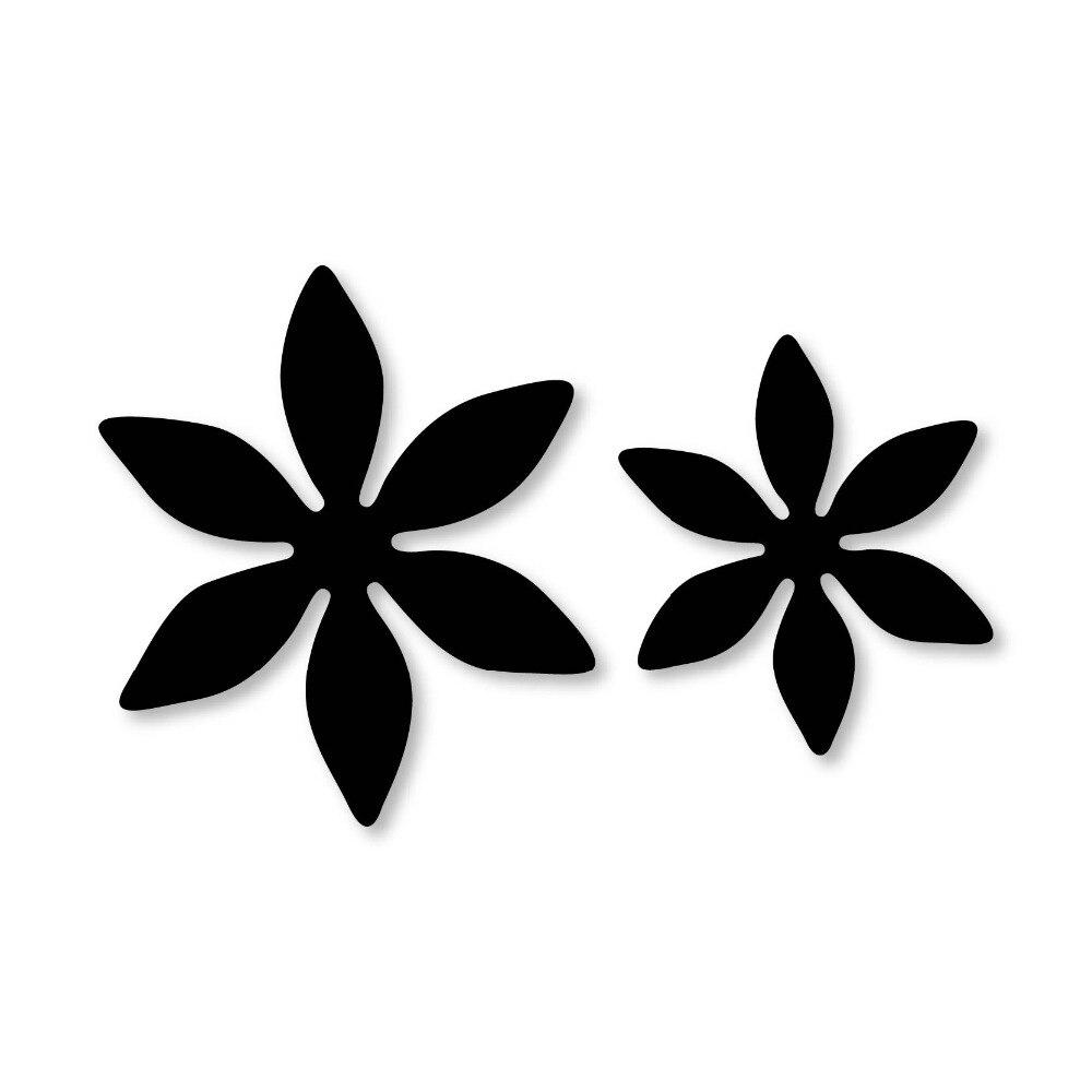2Pcs//set Cross Flower Board Metal Cutting Dies for DIY Scrapbooking Die Cuts New