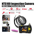 "Dia 8.2mm 2.7"" LCD NTS100 Endoscope Borescope 5M Snake Inspection Tube Camera DVR+Free 18650 Lithium Battery"