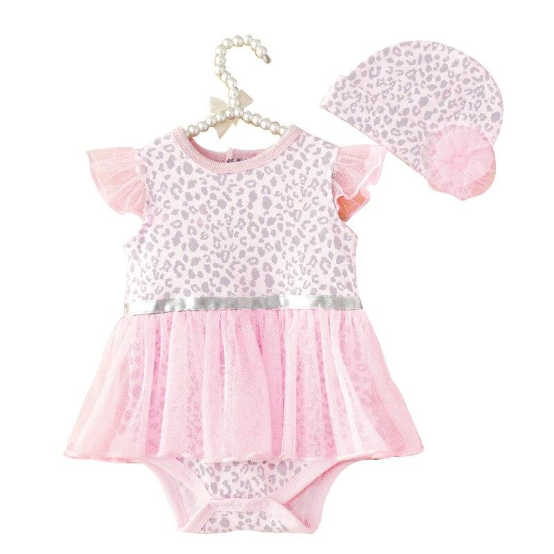 Leopard Print Baby Clothes Set
