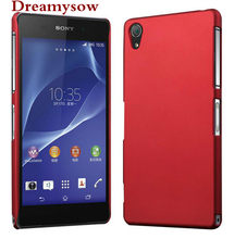 Smooth Rubberized Matte Hard Cover Case For Sony Xperia Z Z1 Z2 Z3 Z5 Compact M2 M4 M5 E5 XP XA X Performance C5 C4 E3 Cases(China)