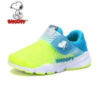 Snoopy Brand Shoes Kids Boys Girls Sneakers Breathable Running Shoes Mesh Casual Girls Boys Sport Shoe Non slip Kids Sneakers