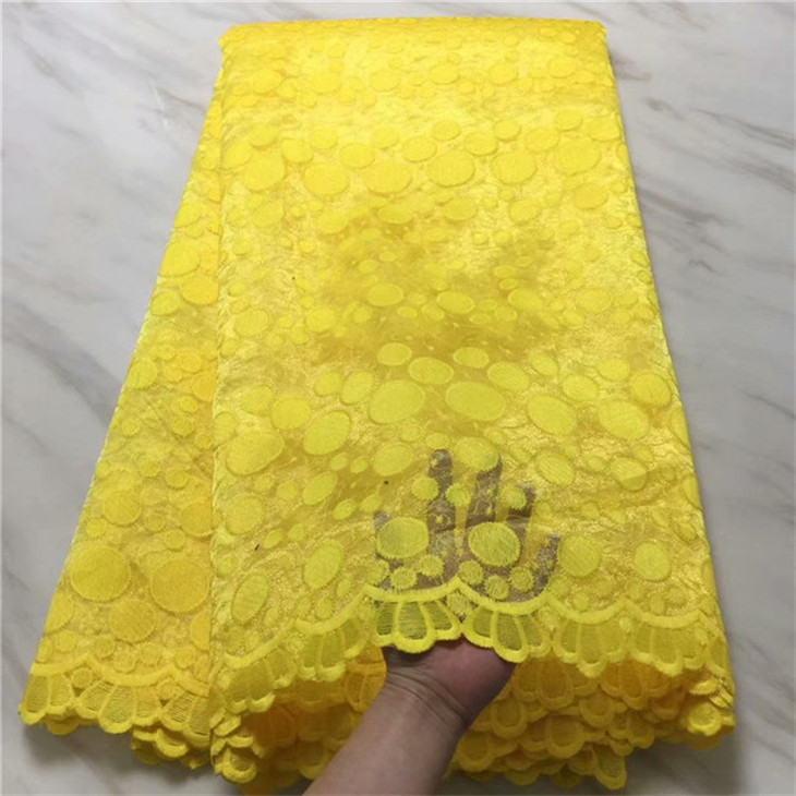 African Lace Fabric 2019 High Quality Lace Trim Gold African Cord Lace For Nigerican Green Lace