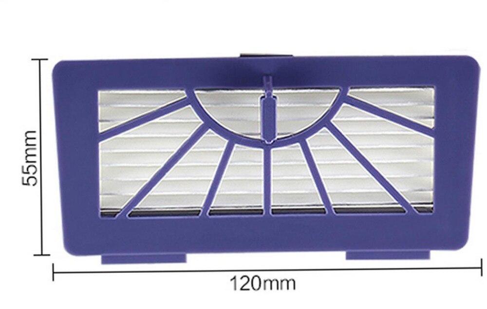 50pcs/lot Heap filters for Neato XV-21 Signature XV Signature Pro XV-11 XV-12 945-0048 XV-15 XV-14 Pet Allergy part Accessory