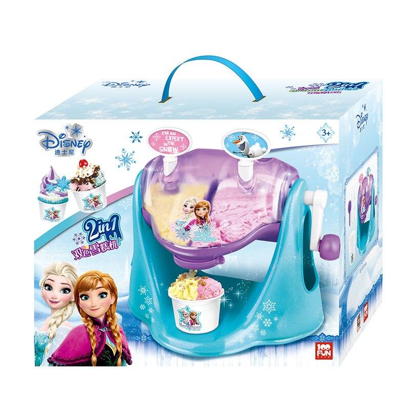 100FUN enfants Machine à crème glacée bicolore jouet fille congelée manuel bricolage matériel artisanat jouets pour enfants cadeaux d'anniversaire