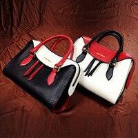 Europe and America hit color killer bag 2017 new elegant, single shoulder oblique shoulder Guangzhou leather handbag