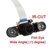 New Raspberry Pi 3 Model B+ IR-CUT Camera Focal Adjustable Night Vision Automatic Switch Mode Camera for Raspberry Pi 3/2