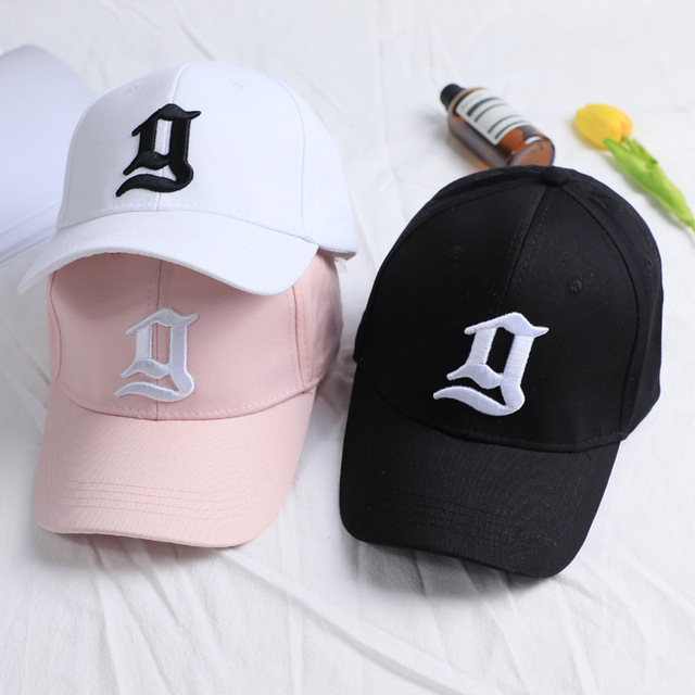 127f957106847 2017 New Trend Solid Black Pink Caps Hat For Women Men Embroidery Letter g Baseball  Cap Casquette Fashion Cotton Snapback Hats