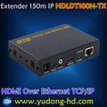 (Transmitter) TXHDMI Extender 150 Meter With IR,HDMI Extender Over Cat5e/Cat6 1080P One-to-many HDMI extender 120m over IP