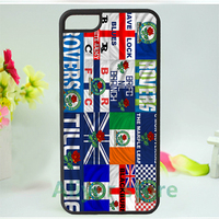 Blackburn Rovers 2 Mobile Phone Case Cover For Iphone 4 4s 5 5s 5c SE 6