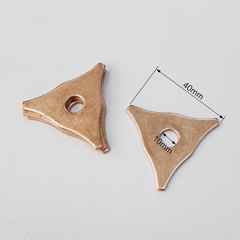 spot welding electrodes car repair tools stud welder machine spotter tri hook washer triangle pads automotive panel dent remover