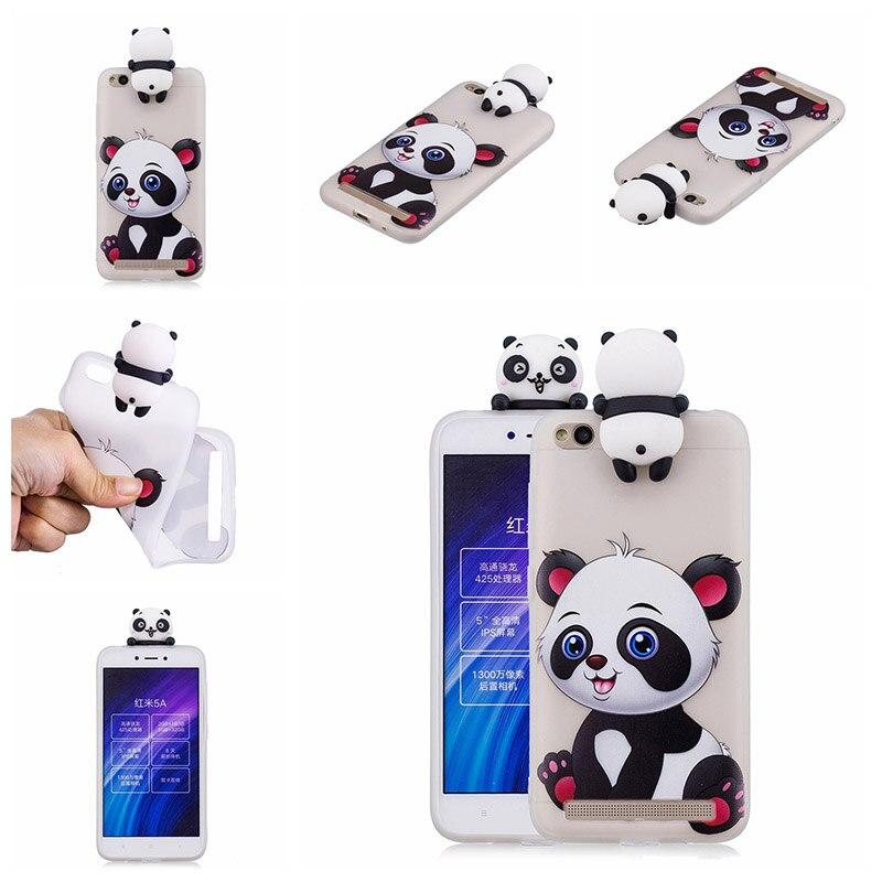 note 5 phone cases KeFo For Xiaomi Redmi 5A Note 5A Phone Cases 3D Squishy Animals Case Silicone Cover for Xiaomi Mi 5X MiA1 Mi5X (7)