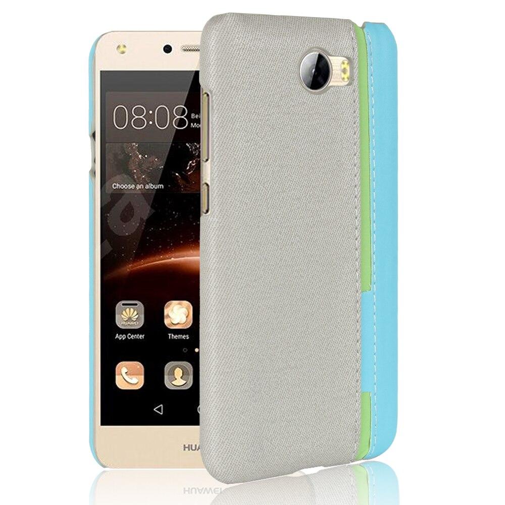 Чехол для Huawei Y5ii Y5 II Куна U29 L21 L01 для Huawei CUN-L21 CUN-U29 CUN-L01 <font><b>Y52</b></font> случаи покрытия сотовых телефонов Сплошной Цвет чехла