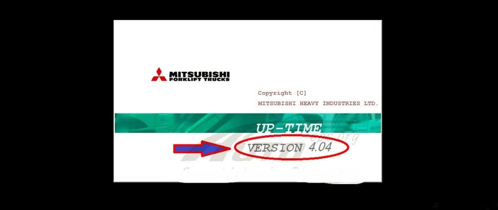 Forklifts Up Time 4 04 crack For Mitsubishi