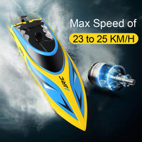 JJRC S1 S2 S3 High Speed RC boat Self Righting Speedboat Portable Remote Control Ship 25Km/h toys for Children Water Cooling HOT