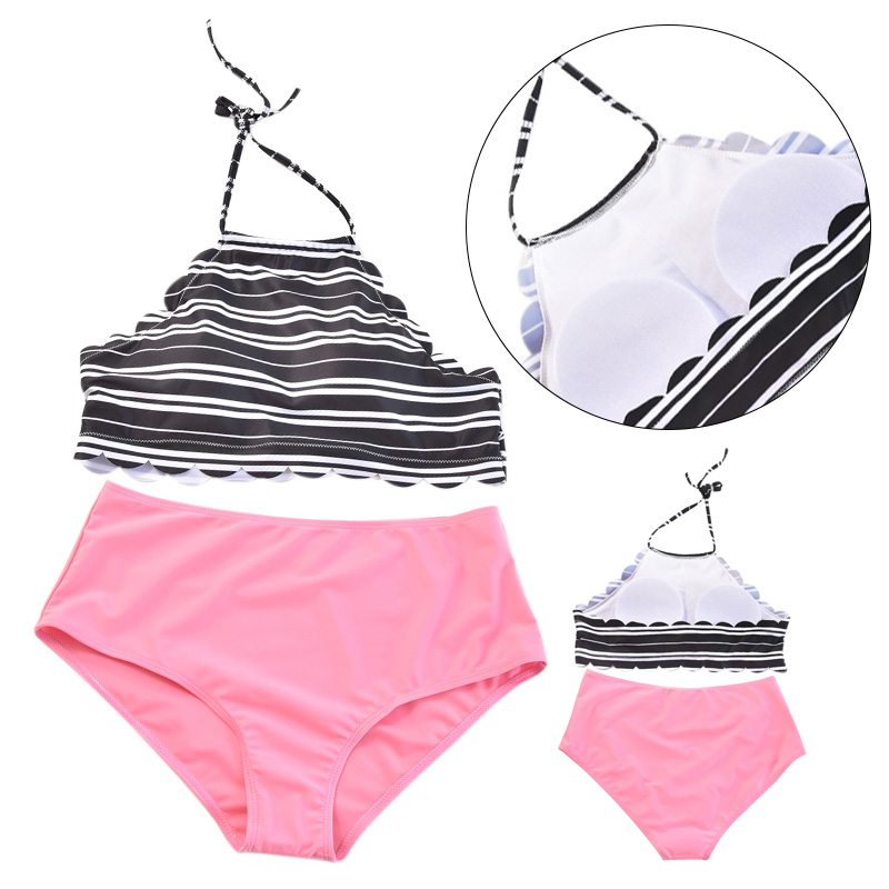 Capable Biquini Beach Wear Elastic Swimsuit Bikini Set Simple Solid Color Split Type Polyester Adjustable Breathable Swimwear Swimsuit Promote The Production Of Body Fluid And Saliva