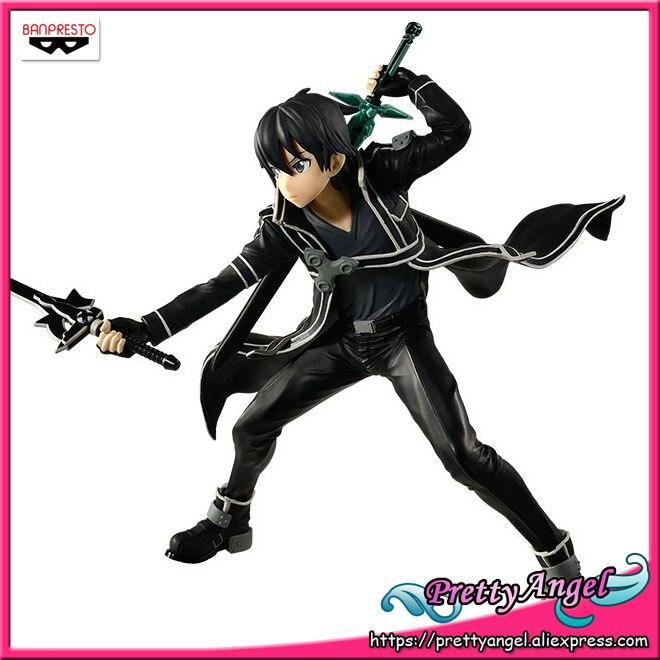 PrettyAngel Genuine Banpresto EXQ SAO Sword Art Online KIRITO Collection Figure