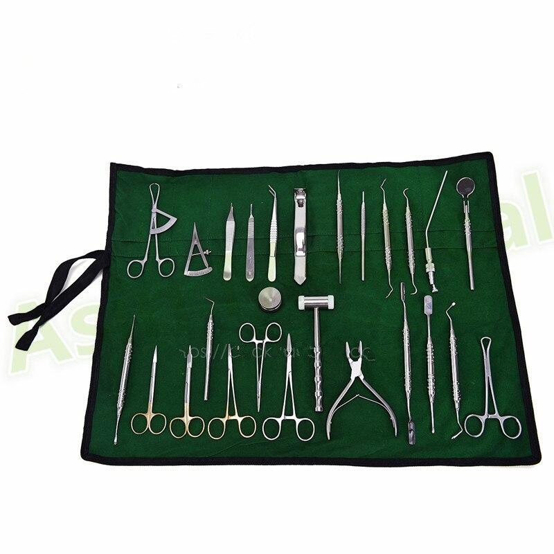 Équipement d'implant dentaire 26 ensembles d'instruments dentaires kits de chirurgie d'implant ensemble d'équipement outils de plantation