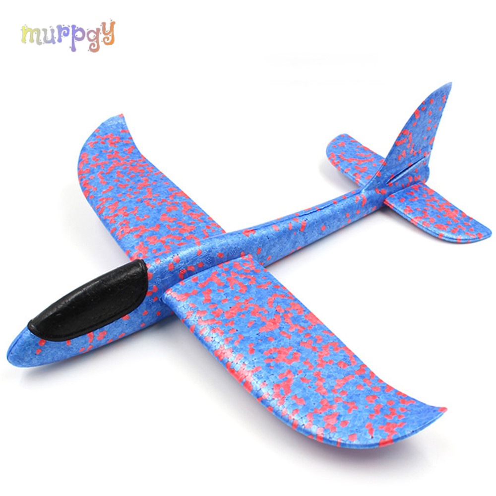 2019 Kid Toys Hand Throw Flying Planes Glider Foam Airplane Model Party Bag Fillers Toys For Kids Outdoor Launch Game Gifts