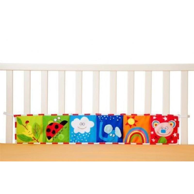 1-12 maanden babyspeelgoed Doek Boek Multi dier Bumper pad Speelgoed - Speelgoed voor kinderen - Foto 4