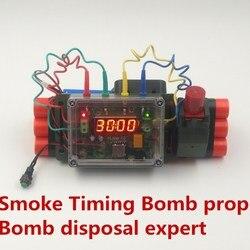 Nowy pokój ucieczki Jedi przetrwać emituje dymu wody ekspertem bomba rekwizyty dla C4 rozrządu bomby demontaż usunąć szwy usuwanie środków bojowych