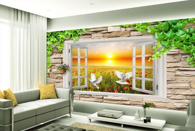 aliexpress : buy 3d stereoscopic tv backdrop artistic scenery