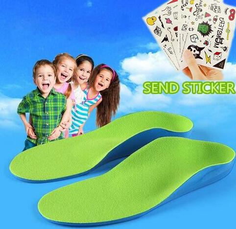 Kids Children Orthopedic Insoles for Children Shoes Flat Foot Arch Support Orthotic Pads Correction Feet Care Insole healthsweet soumit premium kid children orthopedic insoles arch support orthotic pad correction flatfoot o x leg eight leg feet care insole