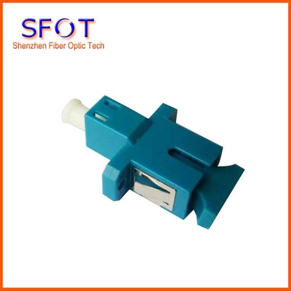 FTTH LC/UPC-SC /UPC Fiber Adapter, Plastic Type. Free Shipping 2pcs