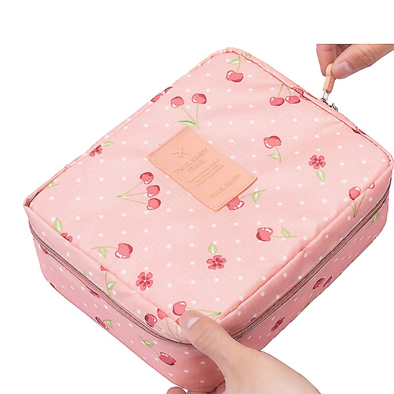 Makeup Bag Travel Bags Women Cosmetic Bag toiletry Storage Ladies women bag cosmetic case wash roxy halter onepiece j pss0