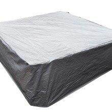 Крышка для спа 9fx 9fx35 дюймов/244x244x90 см, крышка для горячей ванны крышка и покрытие для открытого спа защита сохраняет тепло prent дождь для вашего спа