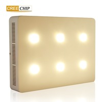 High quality CREE COB chip Led plant grow light 6 hole 1200w high power for indoor&greenhouse planting provide grow fast light